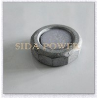 carbon steel zinc plated flange nuts