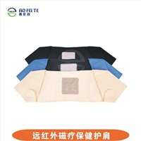 double shoulder support brace against injury and pain Aofeite H002