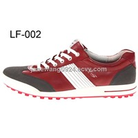 fashionable softable golf shoes man golf shoes