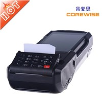 handheld POS terminal with RFID and fingerprint reader