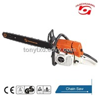 hot sale cheap Gasoline Chain Saw 5200 with CE and GS and EPA Certification