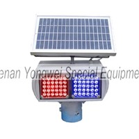 led strobe warning traffic solar light
