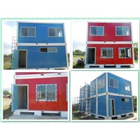 manufacture 20ft/40ft/ 2 layer container homes office ,toiet , classroom