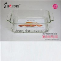 rectangle pyrex glass baking dish