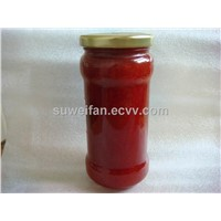 strawberry sauce from factory