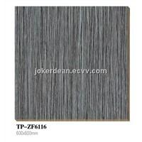 vertical lines rustic ceramic floor tile dark grey color
