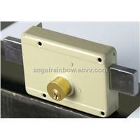 yale locks door lock rim lock drawback lock(111A-6D)