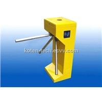 Vertical Waist High Drop Arm Tripod Turnstile KT114Y