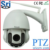 720P waterproof outdoor  wireless wifi ptz  ip cctv camera