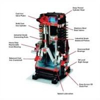 Chicago Pneumatic 2-HP 26-Gallon (Belt Drive) Dual-Voltage Cast-Iron Air Compressor