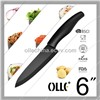Black ABS Handle Design Ceramic Knife Chef