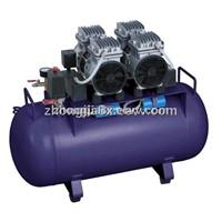 1 for 2 dental oil free air compressor KJ-1000