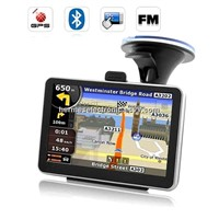 5 inch Car GPS Navigator with Bluetooth&AV IN FM MP3 AV-IN 4GB DDR 128M IGO or Navitel Map