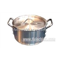 Aluminium Heavy Gauge Straight Pot AS