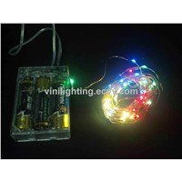 Copper Wire LED Light String Color / Christmas Light String