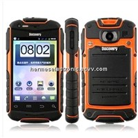 Discovery V5 3.5 inch  Android waterproof splash mobile phone Shockproof Cellphone