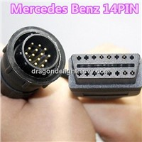 MB Star Sprinter 14Pin to 16Pin Adapter Cable Connector Cable Mercedes Benz 14PIN
