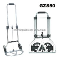Mini Aluminum Folding Hand Truck Shopping Trolley 45kgs loading
