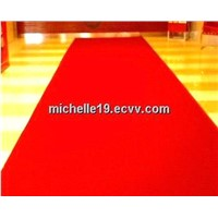 POLYESTER non-woven plain exhibition carpet