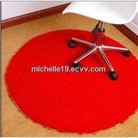 Plain velour/velvet carpet
