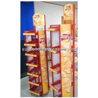 Potato Chips Display Stand