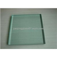 10mm clear tempered glass for shower door