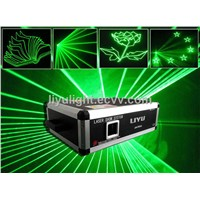 1W-5W ad card 3D Green outdoor laser lighting show /animation laser / laser wedding party show