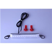 1 Single Bolt On 12 LED Universal White License Plate Light DRL Car Pickup Truck