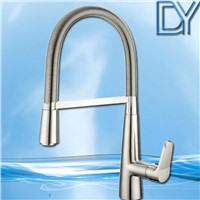 2014 New fashion Europen design pull out sink faucet