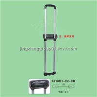 2014 New fashion luggage trolley handle suitcase handle parts