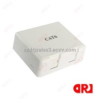 2 Port Mounting Box for 86 type cat6