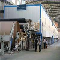 3600mm kraft liner paper making machine with 120tpd