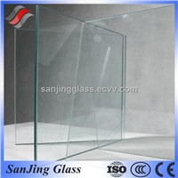 3-12mm clear tempered glass