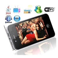 3.5'' D988 dual TV tuner (DVB-T digital TV + analog TV) WIFI dual sim mobile phone