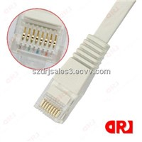 4 pairs UTP 24 awg Cat5e patch cord / cable