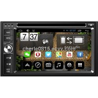 "6.2"" Double Din Touch screen Universal Android 4.2 Car GPS Nav DVD player"