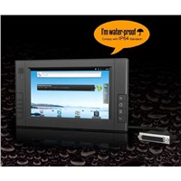 "7"" Industrial Panel PC with Android 2.3.4"