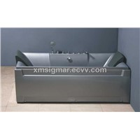 ABS composite grey board  two persons washtubs
