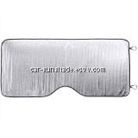 Aluminium foil car sunshade