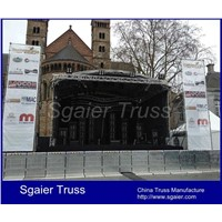 Aluminum crowd control barrier stage barrier concert barrier