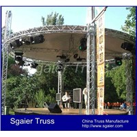 Aluminum truss lighting exhibition advertising event stage truss