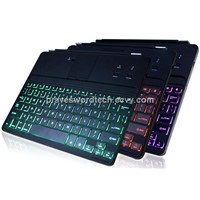 Backlit iPad Bluetooth Wireless Keyboard for iPad 4 / 3 / 2