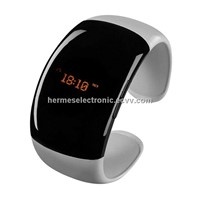 Bluetooth Bracelet Watch \+anti-lose+answer/hang up call+music player,Support for multiple languages