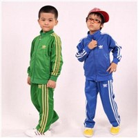 Brand name designer kid's sports suits, adidas,nike casual suits for children