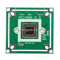 CMOS 1089 600tvl CCTV Camera pcb,cctv camera module.