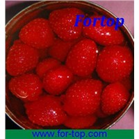 Canned strawberry in syrup with good price