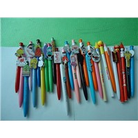 Cartoon clip promotion pen