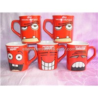 Ceramic Nescafe Coffee Mugs, Available in 250ml Capacity, Microwave and Dishwasher Safe