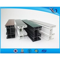 China factory windows and doors frame pvc extrusion profile