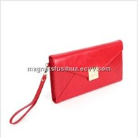 Classical & Business Women Brand Leather Clutch Bag